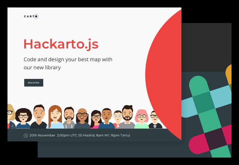 Hackarto landing page