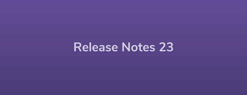 Esper Release Notes – DevRel 23