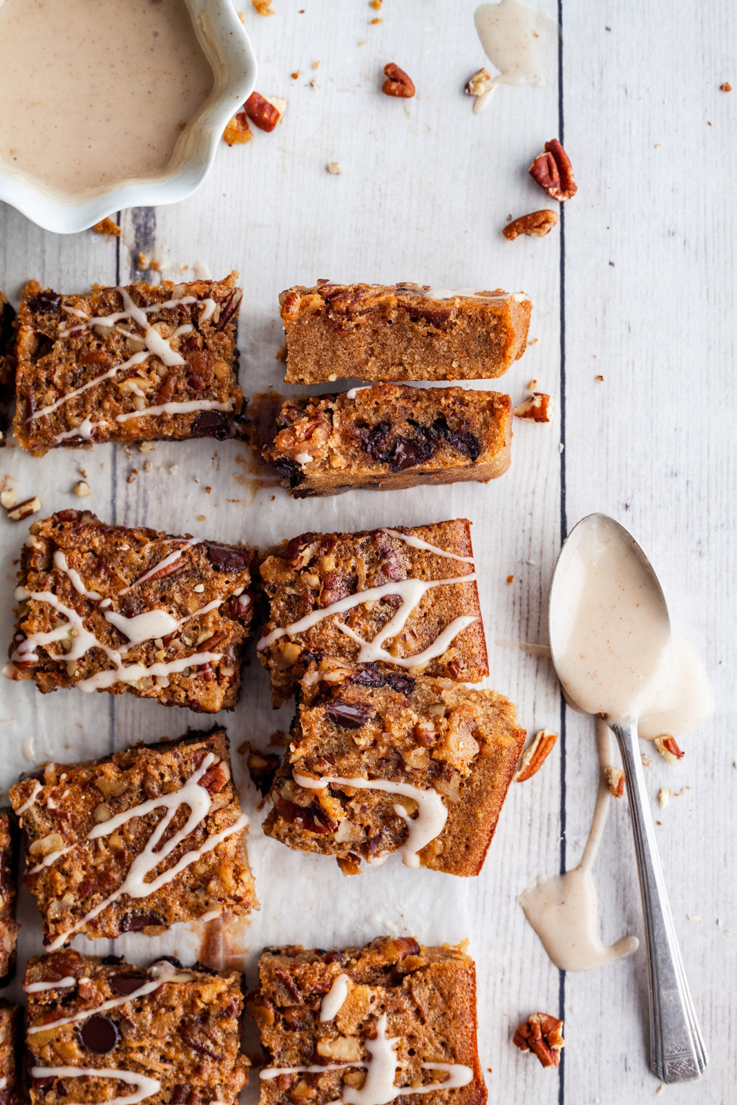 Cookie Butter Breakfast Blondies