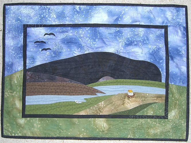 Landscape Wallhanging by Ann Hill