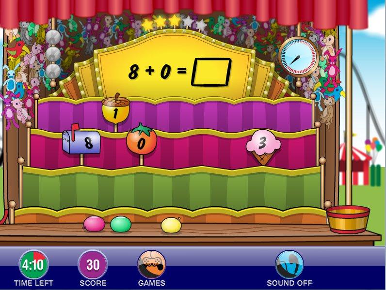 K5 math arcade