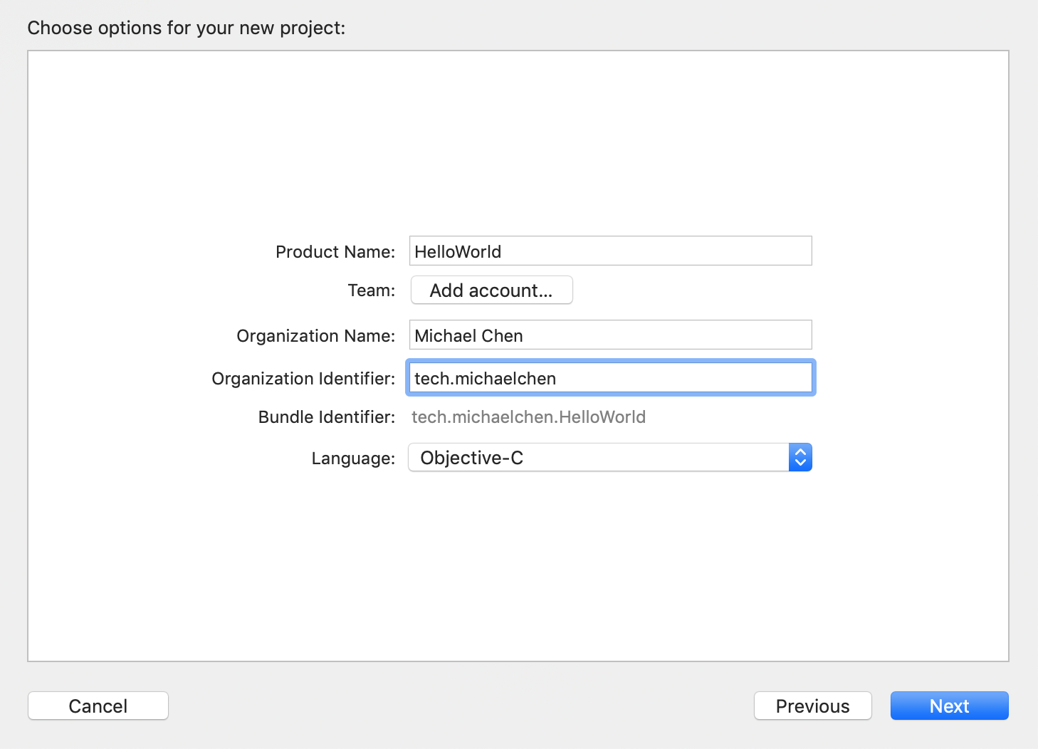 設置 Xcode 專案