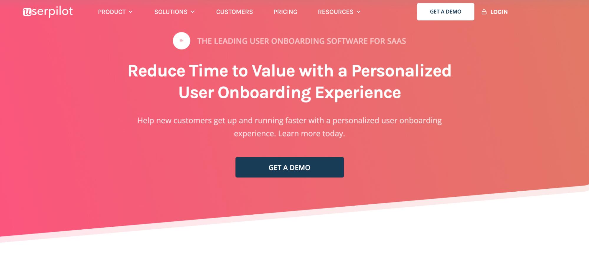 User Onboarding Software: Userpilot screenshot