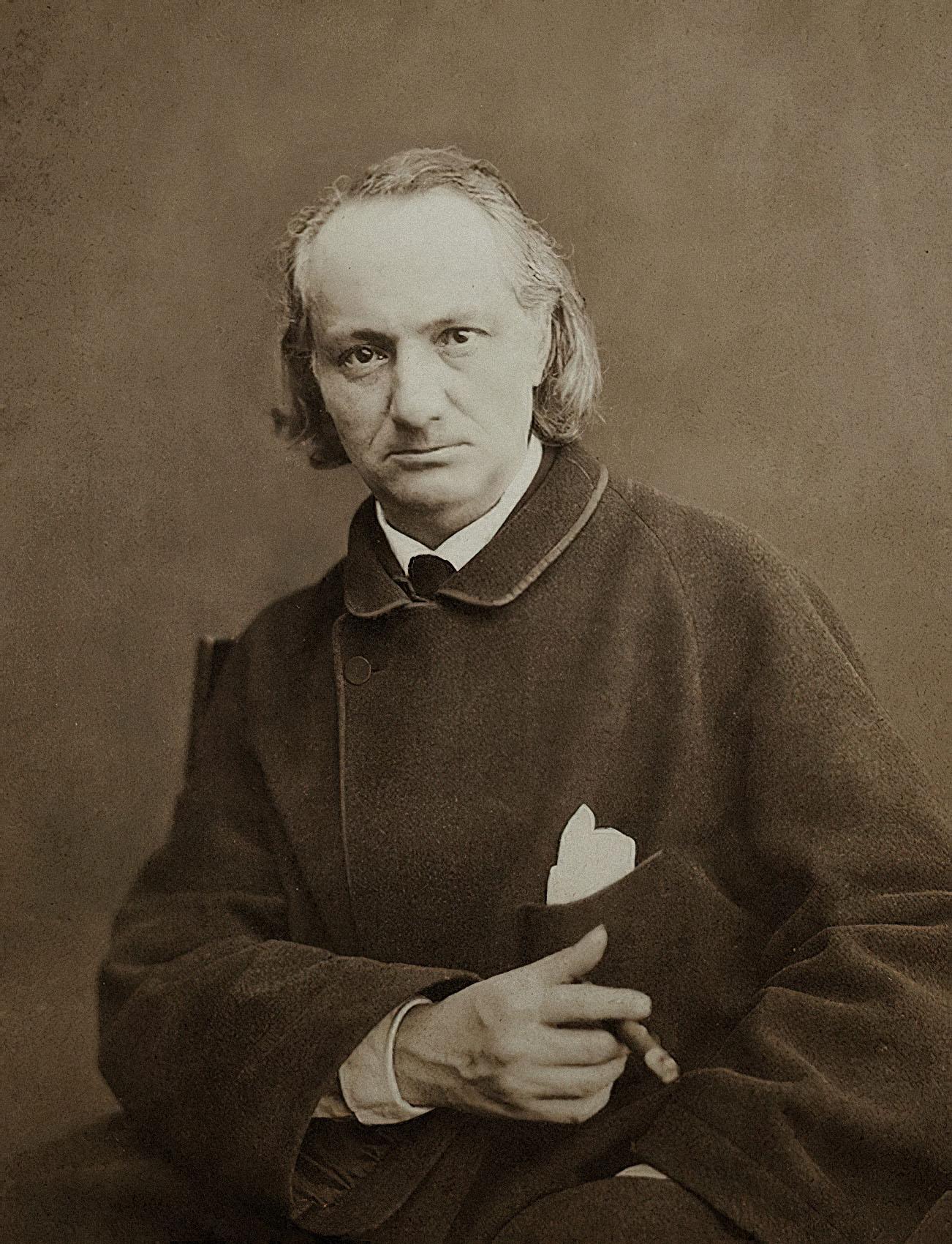 Шарль Бодлер (1865). Фото: Charles Neyt