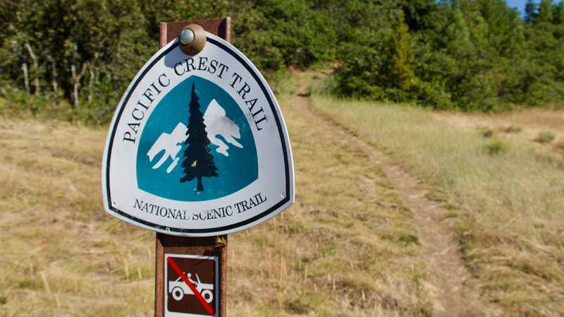The PCT near Ashland, Oregon