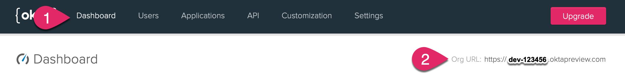 Your Okta Org URL