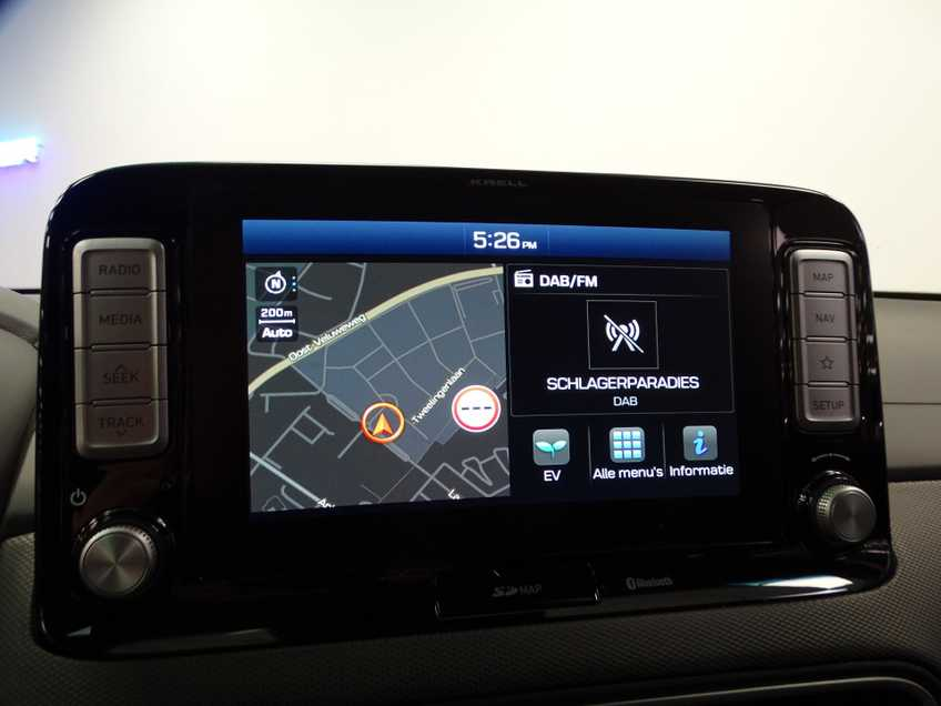 Hyundai Kona EV Premium 64 kWh Ex BTW 4% Bijtelling Leder Navi HUD Clima Camera afbeelding 14