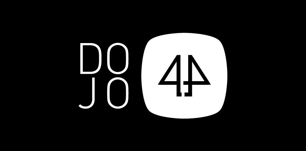 Dojo4 logo black
