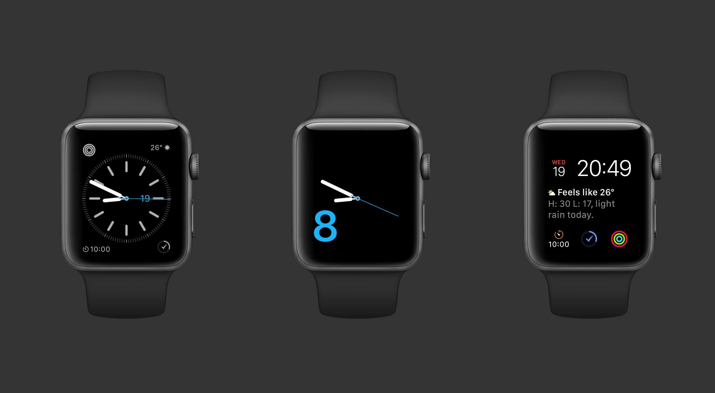 Collection of Watch Faces I regularly use