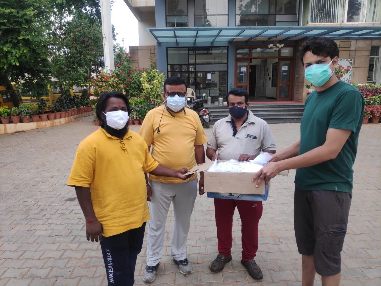 Distribution at Ramamurthy Nagar