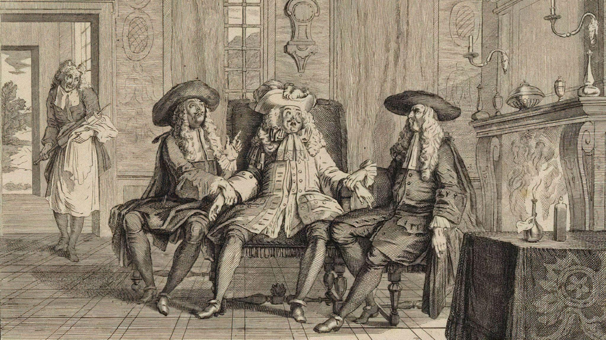 Иллюстрация к пьесе Мольера «Мнимый больной» / futura-sciences.com