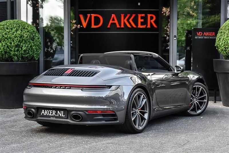 Porsche 911 S CABRIO SPORT CHRONO+SP.UITLAAT+ACC NP.203K afbeelding 10