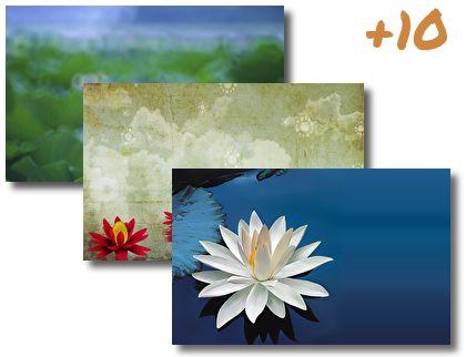 Lotus Flower theme pack