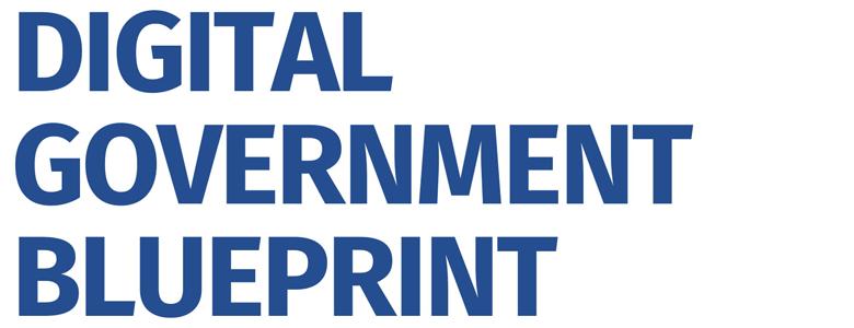 digital government blueprint
