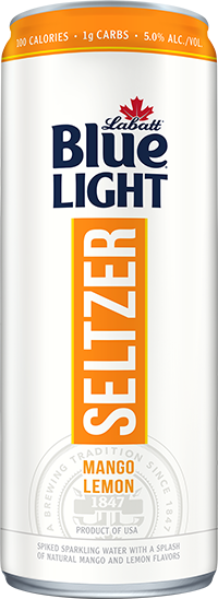 Labatt Blue Light Seltzer Mango Lemon
