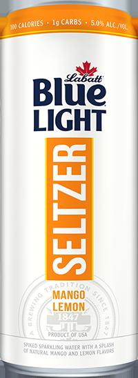 Labatt Blue Light Seltzer Mango Lemon