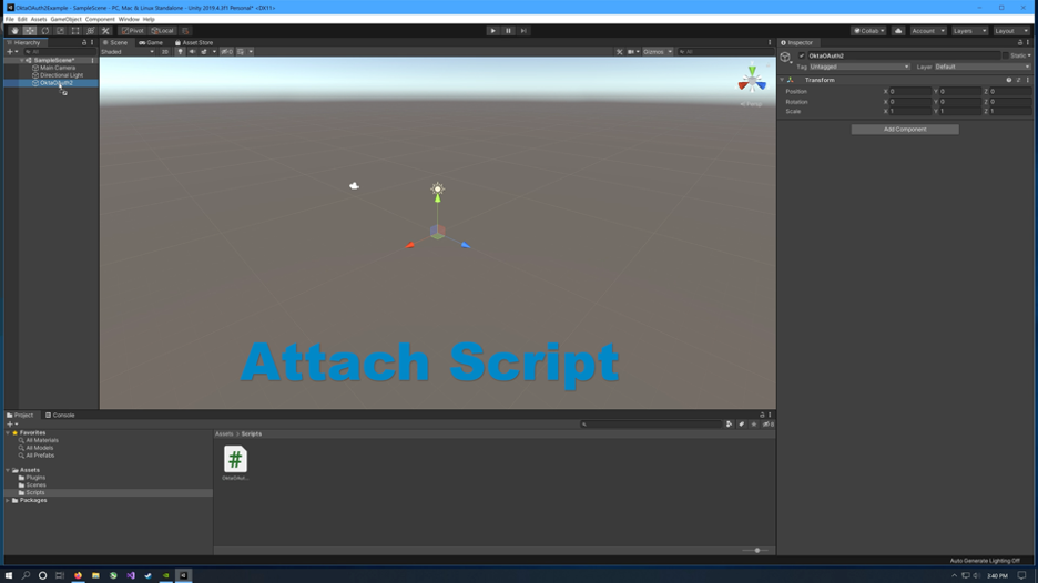 Unity import package
