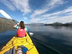 Paddling on Lake Wanaka