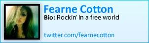 Fearne Cotton on Twitter