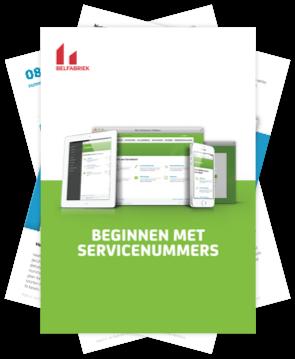 Gratis e-boek van de Belfabriek: Beginnen met servicenummers.