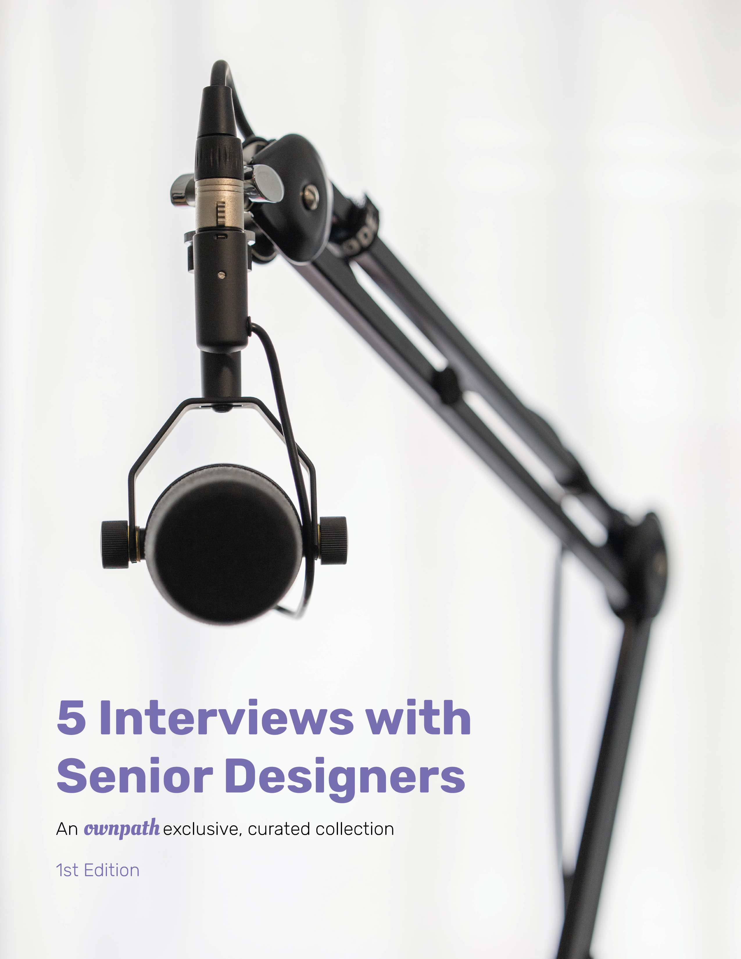 5 interviews with senior designers