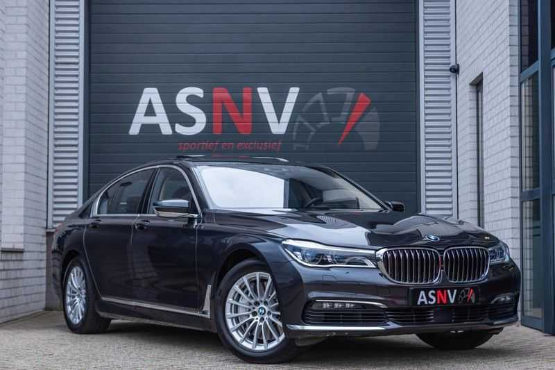 BMW 7 Serie 750i xDrive High Executive, 450 PK, Schuifdak, Gesture Control, Display/Key, Massage, Head/Up, Surround view, 56DKM!!