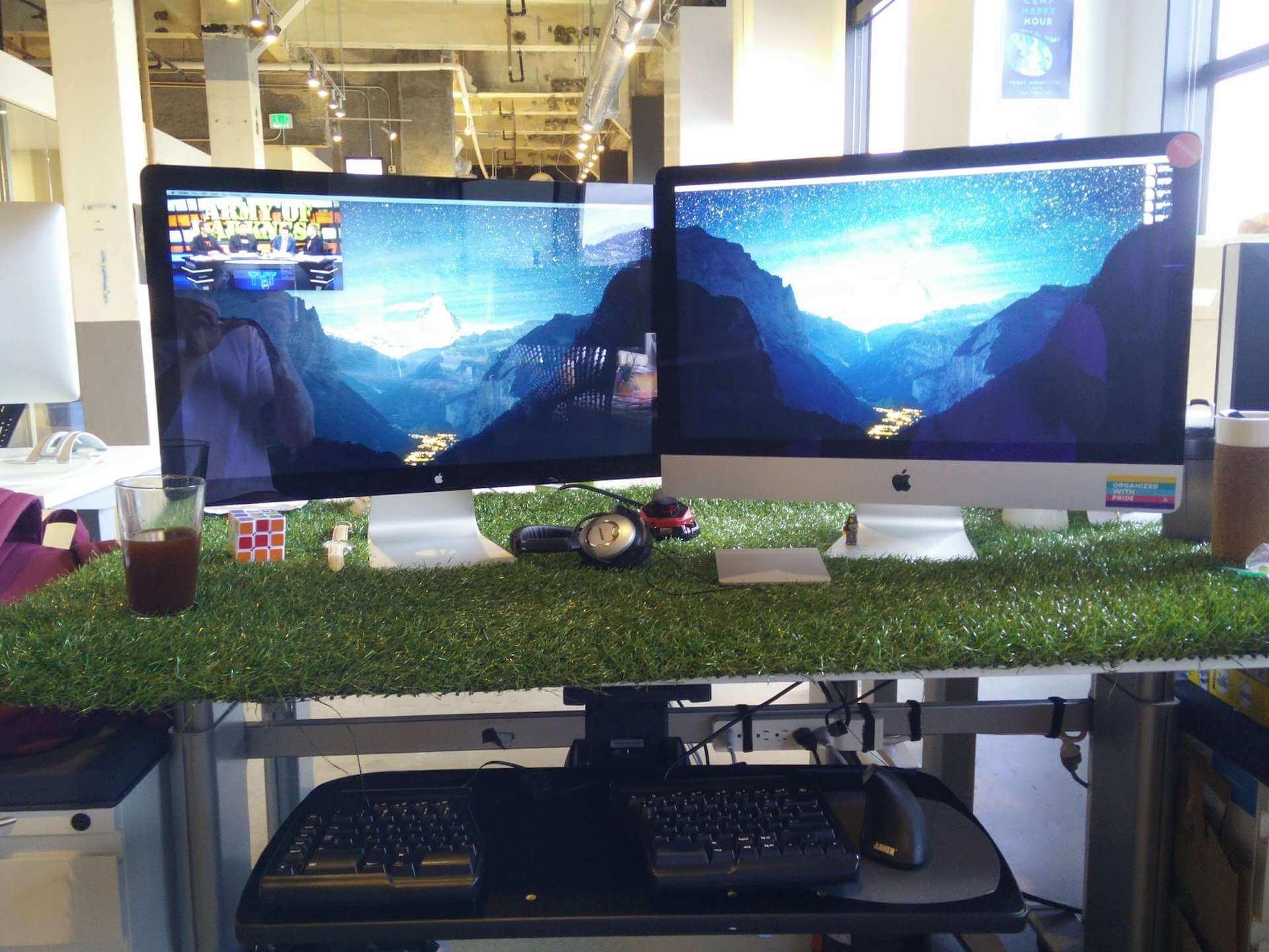 My Asana office setup