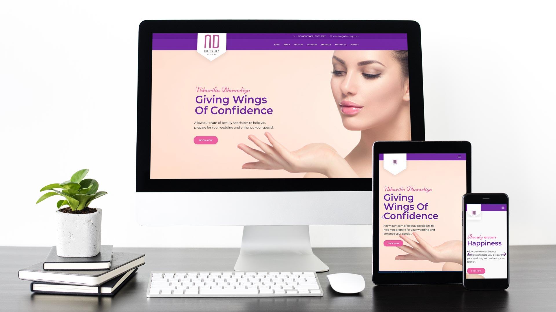 Project - NDArtistry - Beauty Salon