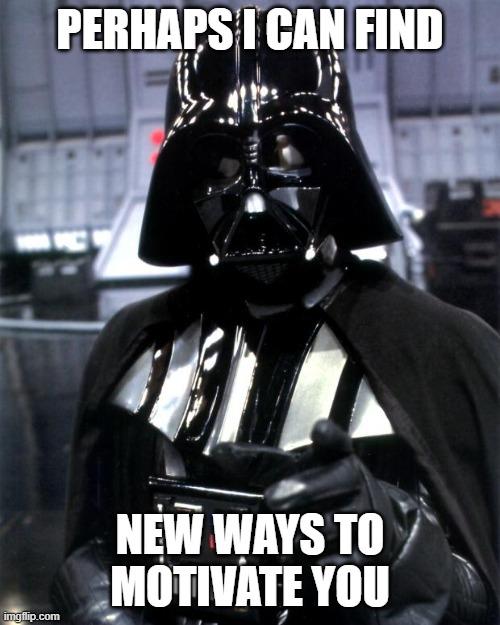 Vader motivation