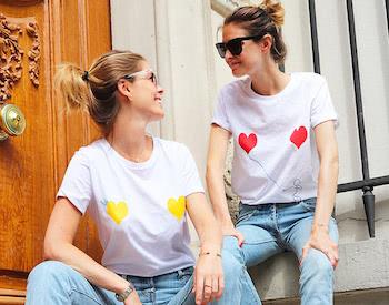 Broderie sur T-shirt Elise Chalmin