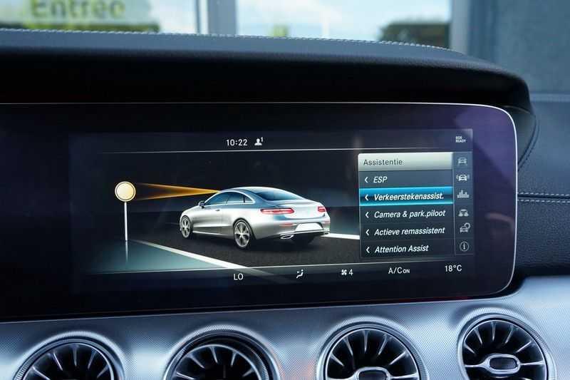 Mercedes-Benz E-Klasse Coupé 200 Premium Plus AMG, Pano, Burmester afbeelding 12