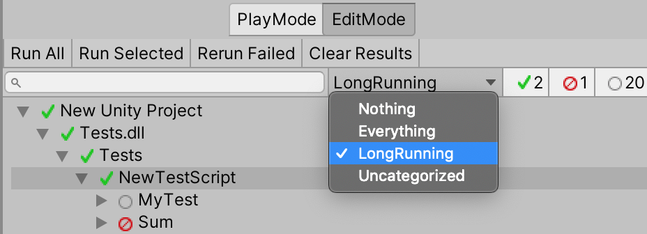 Unity Category Attribute