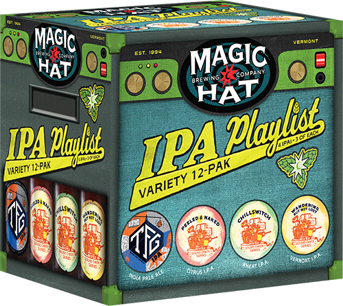 IPA Playlist Bottles Can