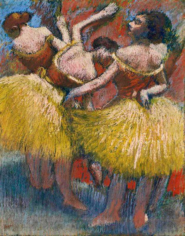 Degas' Three Dancers was sold by Christie's New York for almost $12 million in May 2015
