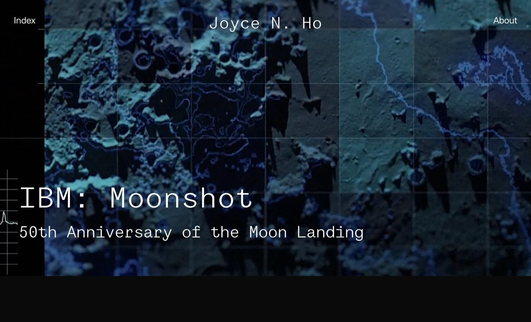 Joyce N Ho website screenshot IBM Moonshot