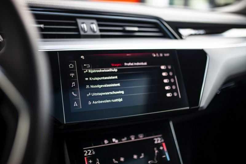 "Audi e-tron Sportback 50 Quattro S Edition *Pano / HUD / 21"" / Stad Pakket / DAB* afbeelding 20"