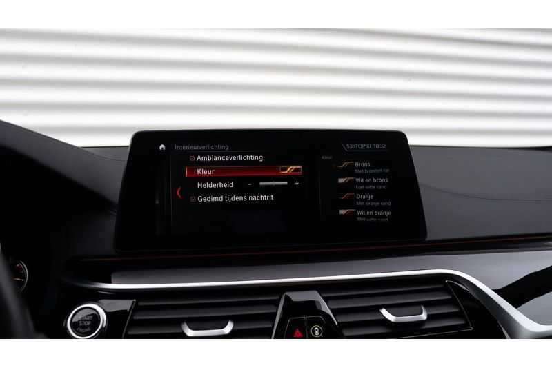 BMW 5 Serie M550i xDrive High Executive Head- Up Display, Schuifdak, Harman/Kardon afbeelding 12