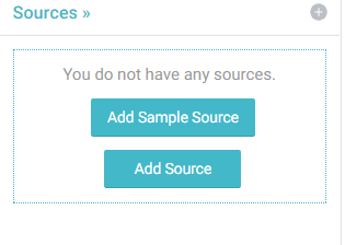 Enter the create new source dialog