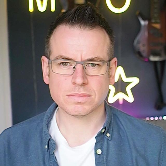 Pete Lambert's face