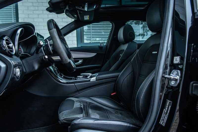 Mercedes-Benz C-Klasse 63 AMG, 476 PK, Pano/Dak, Distronic, Night/Pakket, Burmester, LED, Keyless, 30DKM, Nieuwstaat, BTW!! afbeelding 11