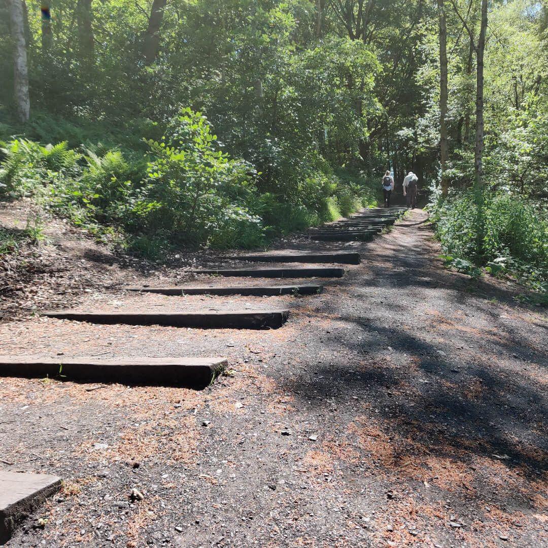 71 steps at Yorkshire Sculpture Park