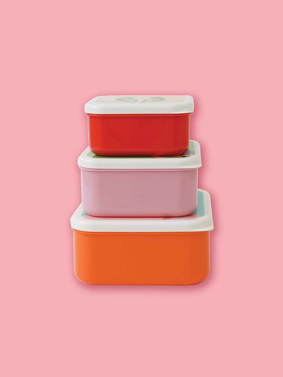 Set of 3 Snack Pots