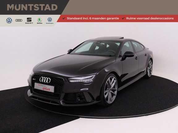 Audi A7 Sportback 4.0 TFSI RS7 605 pk quattro performance | Pano-dak | RS dynamic plus pakket | B&O Advanced sound system | Carbon optiekpakket | 360 camera | Adapt. cruise | Sportdifferentieel |