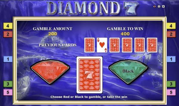 diamond 7 kartenrisiko