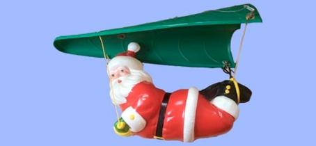 Paragliding Santa photo