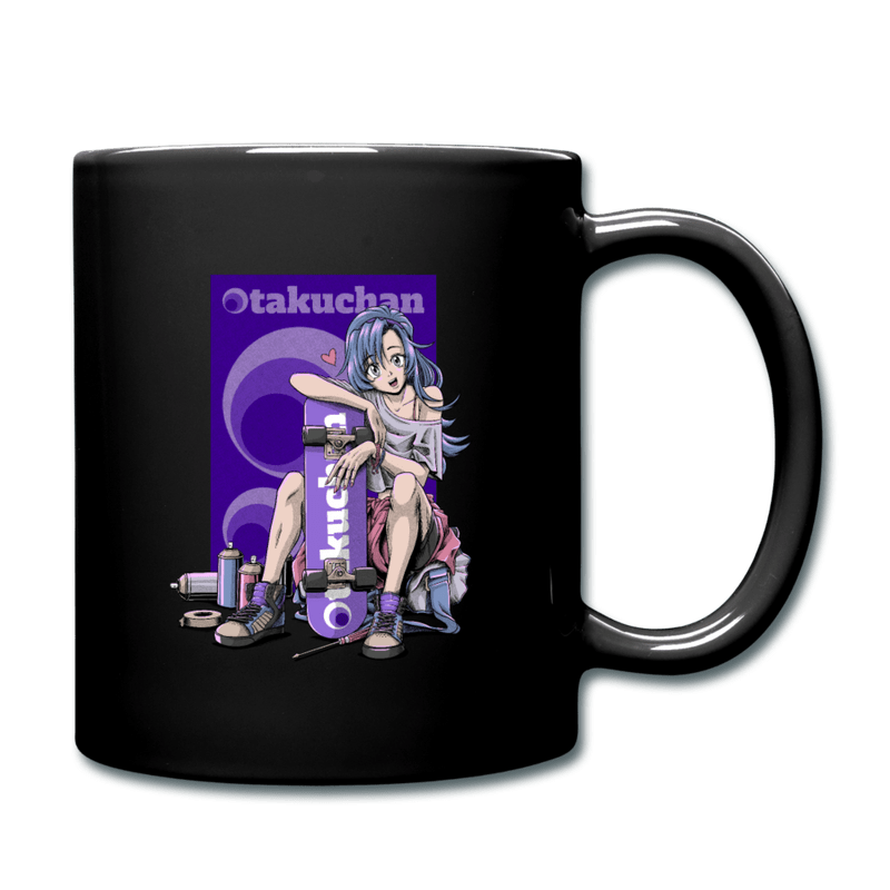 Otakuchan Full Color Mug - black