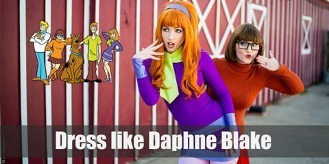 Dress Like Daphne Blake from Scooby Doo Costume