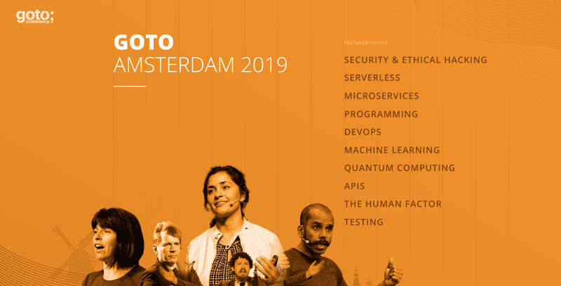 GOTO Amsterdam 2019