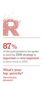 DSM strategy is important to policymakers
