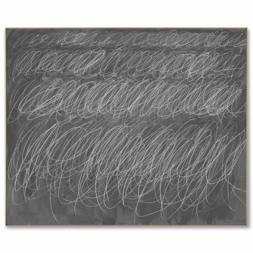 Сай Твомбли (1928-2011) «Без названия». Картина продана за69,6миллионов долларов. Источник: christies.com